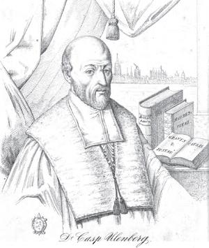 Kaspar Ulenberg - Kaspar Ulenberg, 19th-century drawing