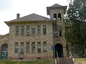 National Register of Historic Places listings in Douglas County, Colorado - Image: Castle Rock Elementry