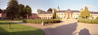 Sychrov Castle - Sychrov Castle seen from the park