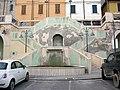 Castrocaro, scalinata con fontana 02.JPG