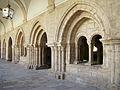 Castromonte monasterio Santa Espina claustro antiguo sala capitular bovedas ni.jpg
