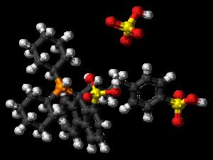 CataCXium F sulf - Image: Cata C Xium F sulf ions ball