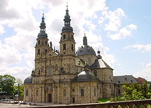 Fulda Cathedral - Exterior