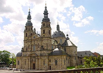 Fulda Cathedral - Exterior