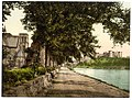 Cathedral and castle from the Ness, Inverness, Scotland LOC 3450336554.jpg