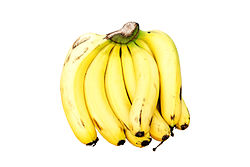 Cavendish bananas are the most commonly sold bananas in the world market.