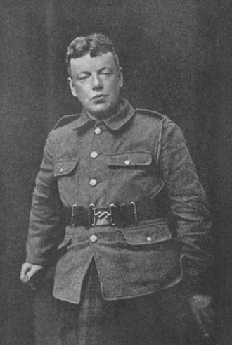 Cecil Chesterton - Cecil Chesterton in uniform.