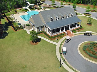 Peachtree City, Georgia - Centennial clubhouse in Peachtree City