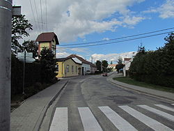 Center of Blatnice, Třebíč District.JPG