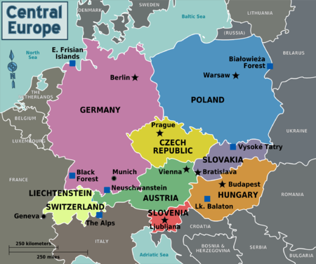 Central Europe Travel guide at Wikivoyage