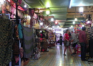 Central Market, Kuala Lumpur - Passageway in the market