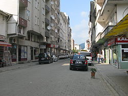 Centre of Hopa, province of Artvin, Turkey.jpg