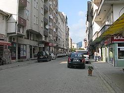 Centre of Hopa, province of Artvin, Turkey.jpg