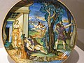 Cephalus Killing Procris Maiolica by Francesco Xanto Avelli da Rovigo Urbino 1533 CE (1) (1216304873).jpg