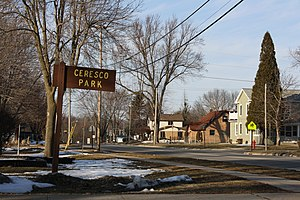 National Register of Historic Places listings in Fond du Lac County, Wisconsin - Image: Ceresco Site Ripon Wisconsin Park