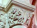 Cergy (95), église Saint-Christophe, croisée, pile NE, chapiteau historié de l'arcade septentrionale 1.jpg
