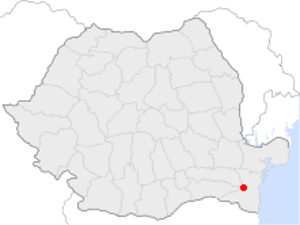 Cernavodă - Image: Cernavoda in Romania