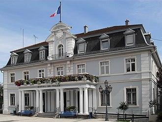 Cernay, Haut-Rhin - The town hall