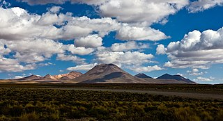 Purico complex mountain in Chile