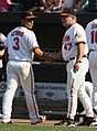 Cesar Izturis and Dave Trembley (3871685259).jpg
