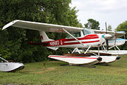 Cessna 150G on floats N8687J