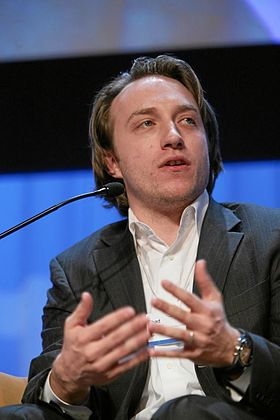 Chad Hurley -World Economic Forum Annual Meeting Davos 2007.jpg