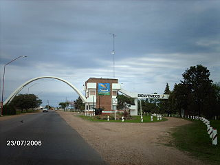 Chajarí City in Entre Ríos, Argentina