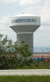 Chambersburg PA water tower.png