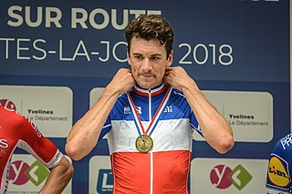 Anthony Roux French road bicycle racer
