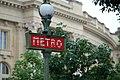 Champs-Élysées - Clemenceau metro, 23 June 2013.jpg