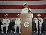 Change of command ceremony 140708-N-WM477-035.jpg
