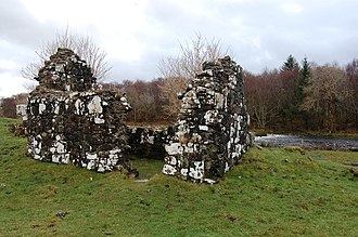 Snizort Cathedral - Ruined chapel on St Columba's Isle