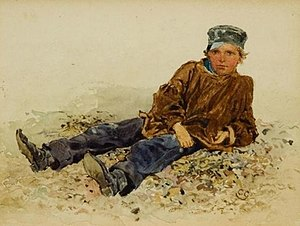 Charles Green (painter) - 'Breaker boy'