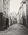 Charles Marville, Rue de l'Éperon, de la rue du Jardinet, ca. 1853–70.jpg