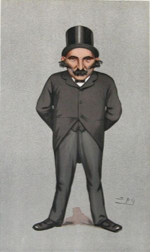 "Charles Cooke (Conservative politician) - ""The Constitutional Union"" Cooke as caricatured by Spy (Leslie Ward) in Vanity Fair, July 1892"