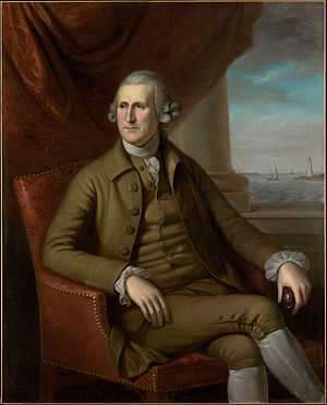 Thomas Willing - Portrait of Willing, by Charles Willson Peale