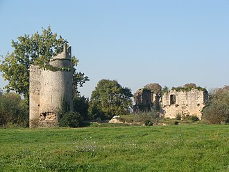 First Massacre of Machecoul - Ruins of the Château de Machecoul where most of the killings occurred.