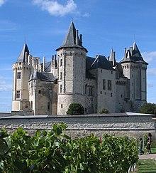 Замки Франции - Saumur