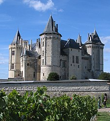 The château at Saumur