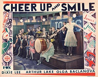 Cheer Up and Smile - Lobby card
