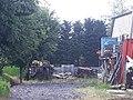 Chemin numéro 1 à Rocourt clôturé.jpg