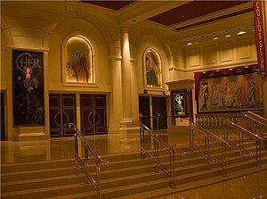 The Colosseum at Caesars Palace - Entrance to theatre from within Caesars Palace in 2008