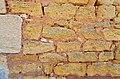 Cherves-Richemont 16 Château Chesnel calcaire&sable ferrugineux-2014.jpg
