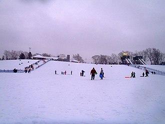 Chestnut Ridge Park - Image: Chestnut Ridge hill