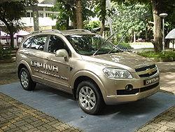 Chevrolet Captiva del mercado sudasiático