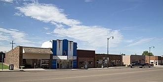 Cheyenne, Oklahoma - Cheyenne town center