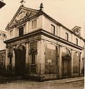View of the church of San Michele Arcangelo with the passetto in background (1900 ca.)