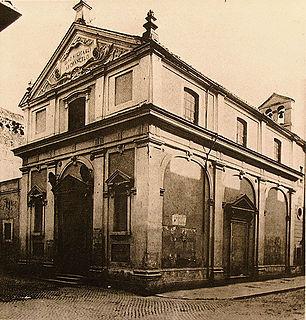 San Michele Arcangelo ai Corridori di Borgo church building in Rome, Italy