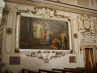 San Domenico (Pisa) - Image: Chiesa di san domenico (pisa), dipinto 02