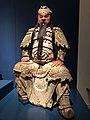 China Shanxi Ming dynasty - Buddhist deity GuanGong or Guan Yu - wood IMG 9575 Museum of Asian Civilisation.jpg